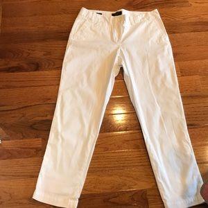 Talbots signature pants 12 petite white 12p